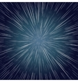 Warp Stars Ray Galaxy Background vector image