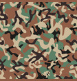 syrian woodland camouflage seamless patterns vector image