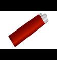 cigarette lighter vector image vector image