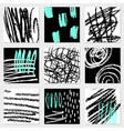 Abstract Designs Collection vector image vector image