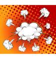 Comic cloud vector image