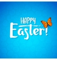 Greeting card for the day of Happy Easter White vector image