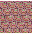 Seamless pattern with waves Seamless wave vector image