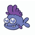 Baby fish for t-shirt design collection vector image