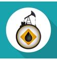 Pretroleum design price icon Oil concept vector image