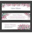 floral headers vector image