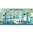 Operating Room vector image