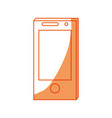smartphone technology symbol vector image