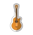 acoustic guitar instrument icon vector image