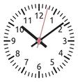 clock face vector image