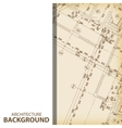 Architecture blueprint fragment background vector image