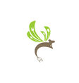 fish logo icon vector image