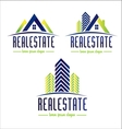 Real Estate Design Logo vector image