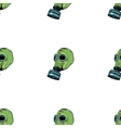 Gas mask seamless pattern vector image
