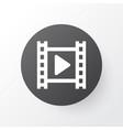 cinema icon symbol premium quality isolated movie vector image