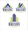 Real Estate Design Logo vector image
