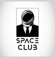 space business man vector image