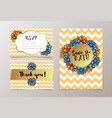 trendy card with succulent for weddings save the vector image