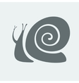 Snail symbol vector image