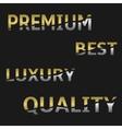 Marketing label set vector image