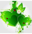nature promo sticker vector image
