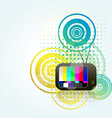 tv style background vector image