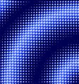 Scattered blue balls background vector image