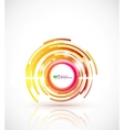 abstract technology circle vector image vector image