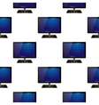 Screen Monitor Seamless Pattern vector image