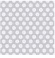 Seamless pattern with white polka dots vector image