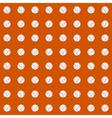 Seamless pattern with baseball balls vector image vector image