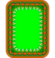 frame traditional Russian vector image vector image