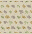 seamless pattern background with birds vector image