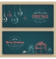 Greeting text and sketch decorations vector image vector image