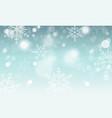 abstract winter wallpaper snowflakes circles and vector image