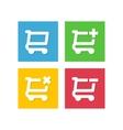 Cart icon vector image