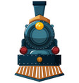 Train design on white background vector image
