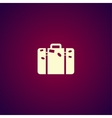 bag icon Flat design style vector image