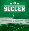 Soccer Football Poster vector image