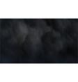 Dark smoke vector image