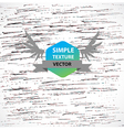 Hand drawn texture vector image vector image