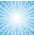 Abstract blue radial rays vector image