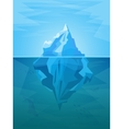 Cartoon Iceberg vector image