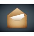 old envelope vector image