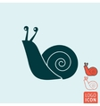 Snail icon isolated vector image