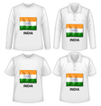 India shirts vector image