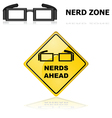 Nerds signs vector image