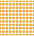 seamless pattern background orange vector image