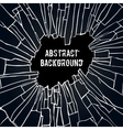 Abstract black effect background vector image