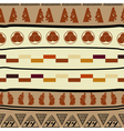 Seamless pattern with african elements Vector Image